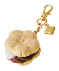 Sakura Monaka Sakura Bag Charm - Chocolate