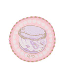 *Q-Pot Cafe Exclusive* Sakura Acrylic Glass Coaster Set