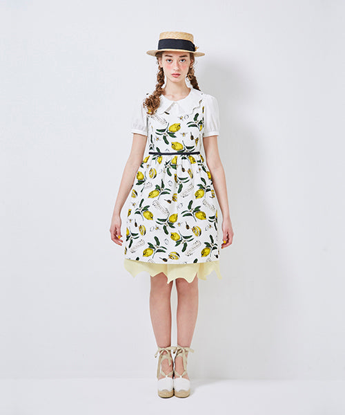 Honey Lemon Sleeveless Dress