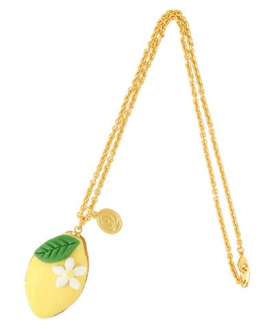 Lemon Cake Necklace