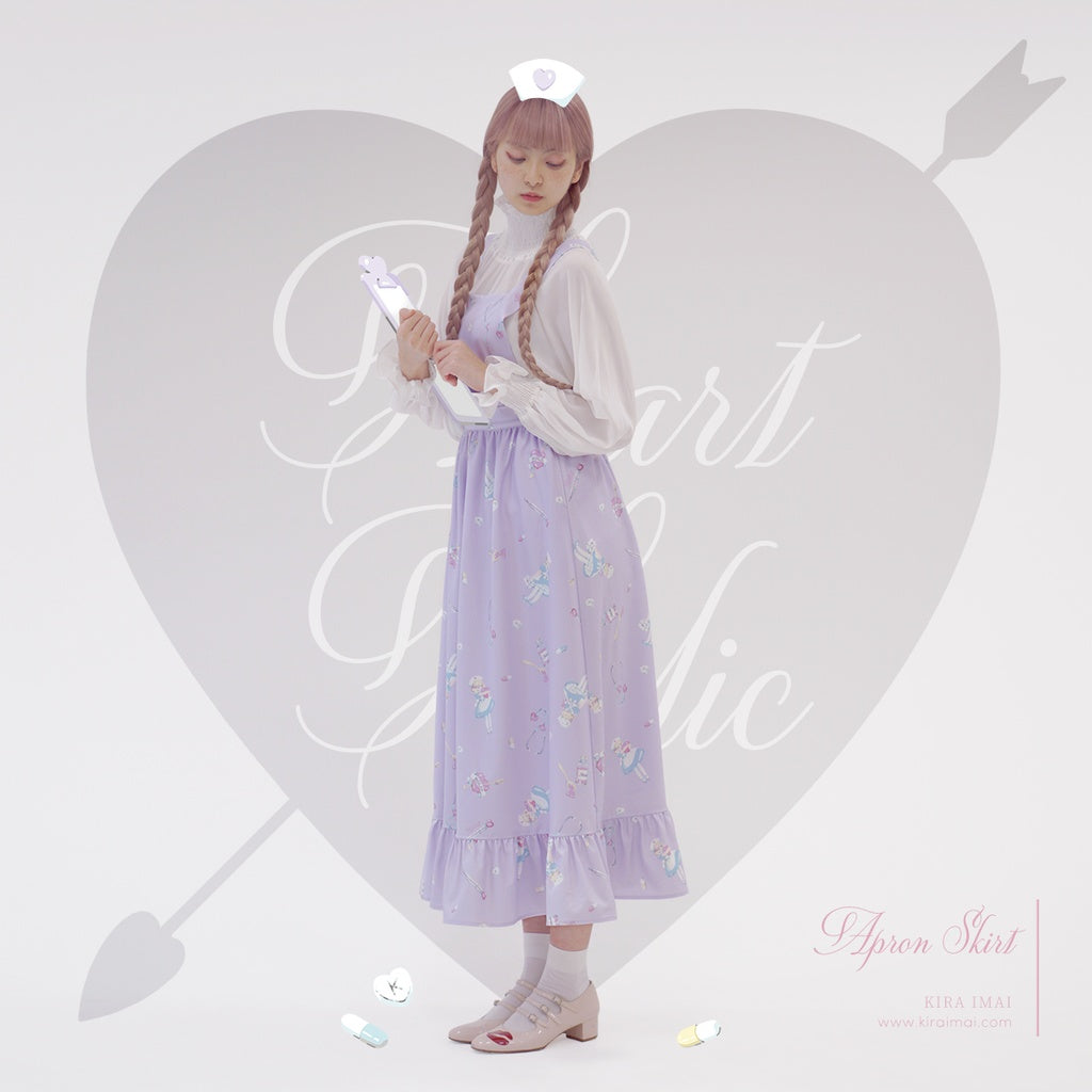 Heart Holic Apron Skirt