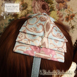 Queen Bunny Headbow - Mint