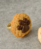 Teddy Bear Paw Cookie Ring - Maple Cookie