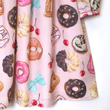 Many Donuts Dress - Strawberry