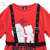 Knockin' Bear Cutsew - Red