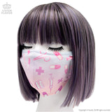 Medical Pattern Face Mask - Pastel