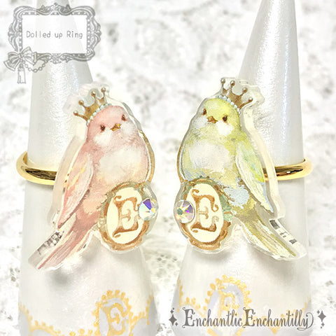 Dolled Up Ring - Happy Birds