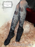 Phantom Rose Garden Tights