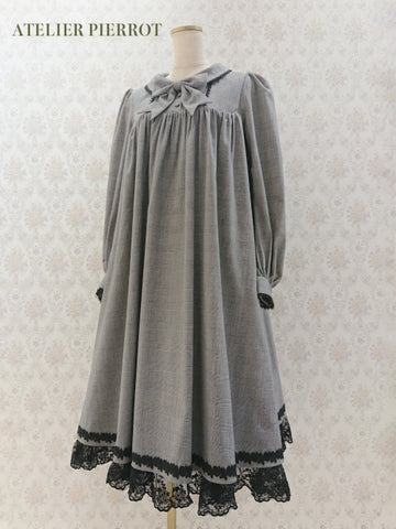 Amiable Dress - Light-gray (pattern)