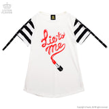 Lie To Me Cutsew - White