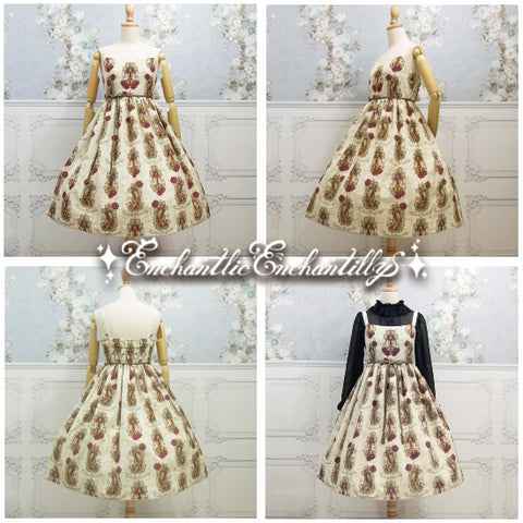 Queen Violin Jumperskirt - Ivory