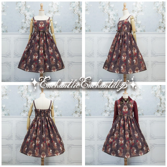 Queen Violin Jumperskirt - Chocolate Brown