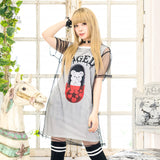 Caged Bear Cutsew - White