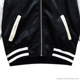Rosey Bomber Jacket - Black x White