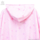 Medicine Full Pattern BIG Parka - Pink