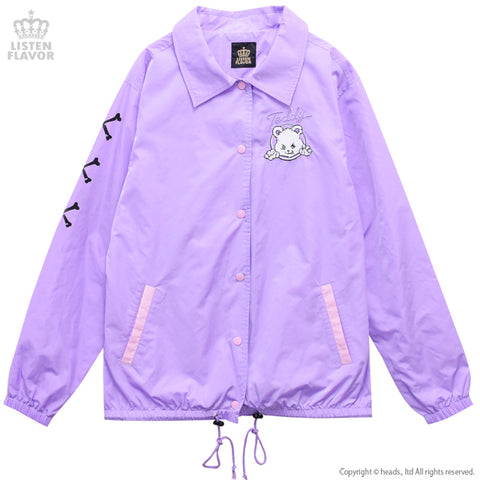 Naughty Bear Coach Jacket - Lavender