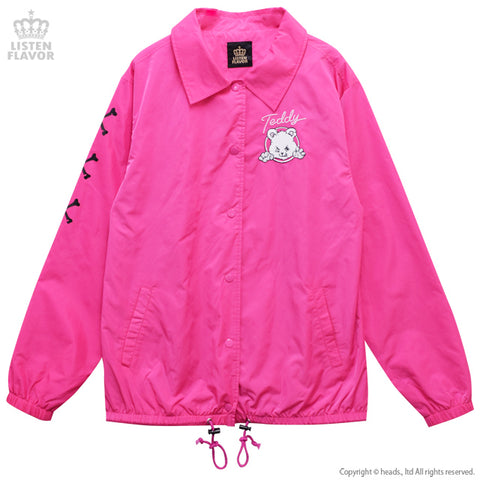 Naughty Bear Coach Jacket - Pink