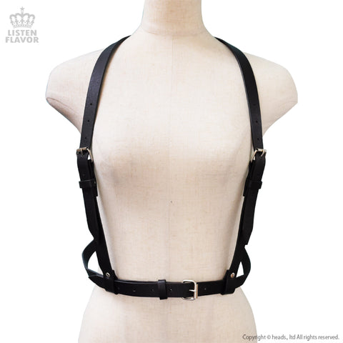 Suspender Harness Belt - Black
