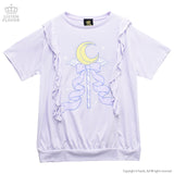 Magical Moon Stick Frill Top - Lavender