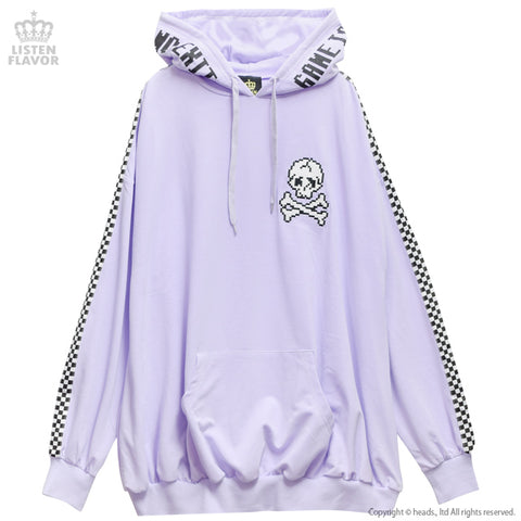 GAME OVER Large Parka - Lavender
