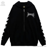 Haunted Castle Zipper Jacket - Black