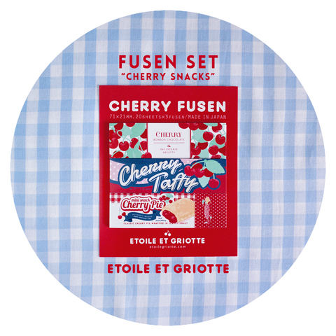 Cherry Snacks Sticker Paper