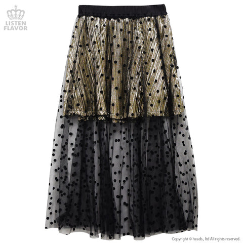 See-Through 2 Way Layered Skirt