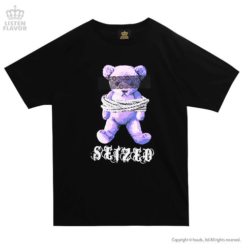 Captive Bear BIG T-Shirt - Black x Purple