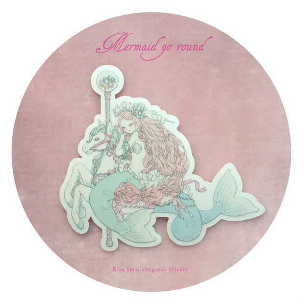 Sticker - Mermaid Go Round