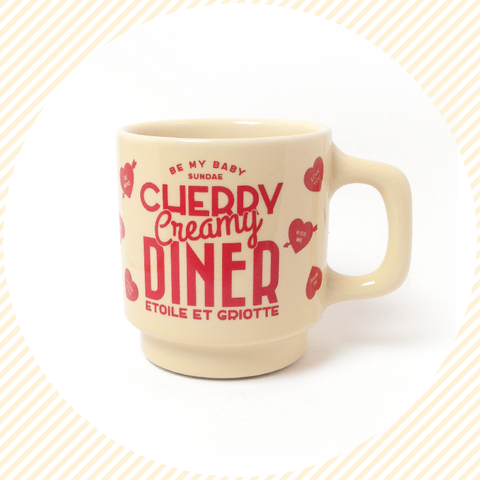Cherry Creamy Diner Cup