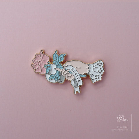 Lolita Rose Pin Badge