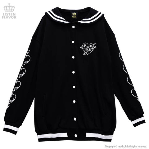 Shoot A Maiden Sailor Jacket - Black