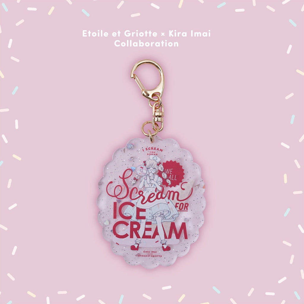 Imai Kira Keychain - Scream for Ice Cream