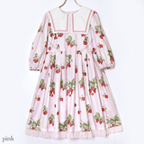 Stripe Strawberry Dress