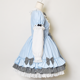 Dreamy Alice Dress with detachable sleeves