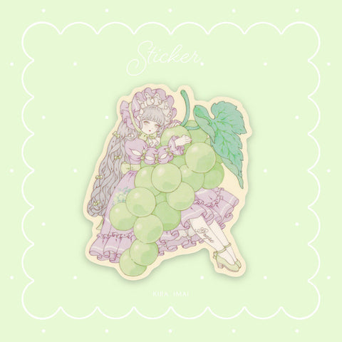 Grape Girl - Sticker