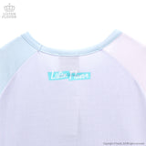 Ice Cream Cat Top - Lavender