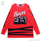 Emily the Strange Long sleeve cutsew - Red