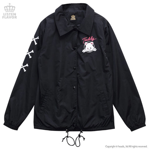 Naughty Bear Coach Jacket - Black