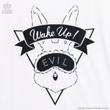 Wake Up Evil Bunny! - White