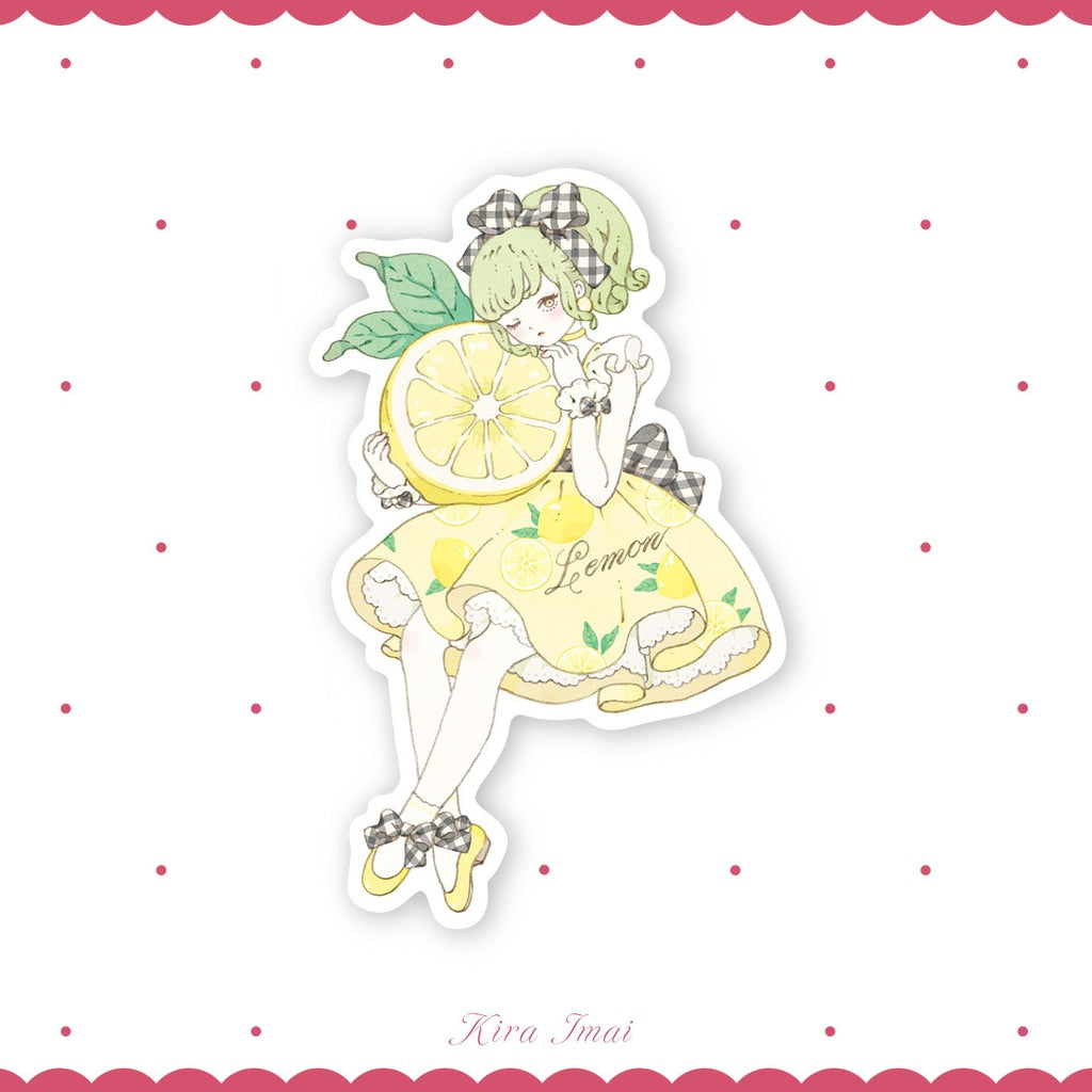 Lemon Girl - Sticker