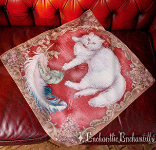 Chat Noble Kerchief - Rouge