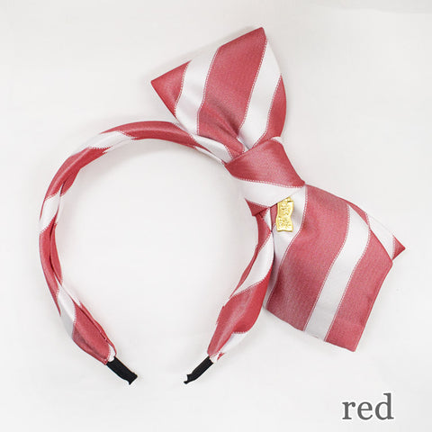 Tie Headband - Red