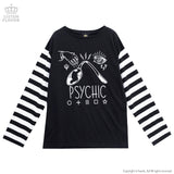 Psychic Border Long Sleeves - Black