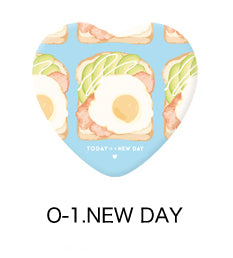 A New Day Heart Badge