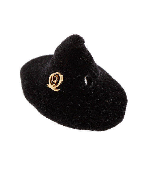 Witch Formal Hat Charm - Black