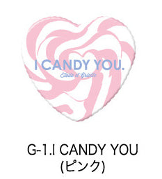 Candy You Heart Badge