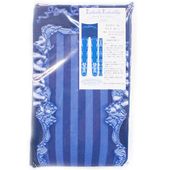 Cutlery Stripes Tights - Blue