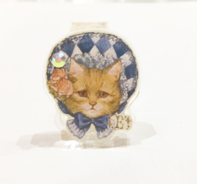 Dolled Up Ring - Blue Bonnet Cat