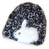 Usagi Knit Hat - White